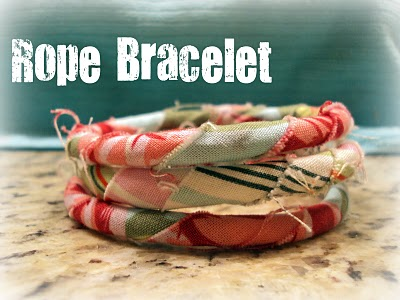 how to make rope bracelets