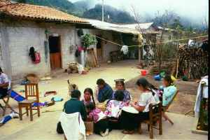 zapatista sewing bee