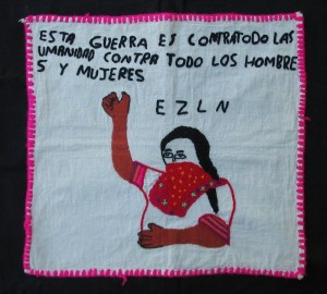 zapatista embroidery
