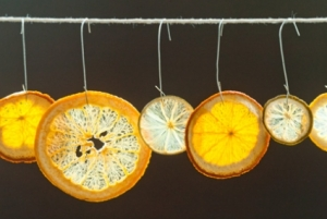orange ornaments