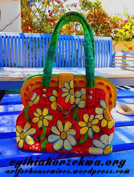 Muy Marcottage Summer Purse by Cynthia Korzekwa
