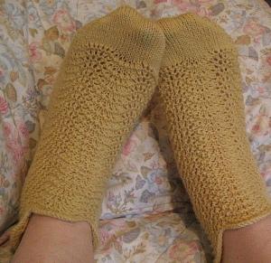 self-designed socks