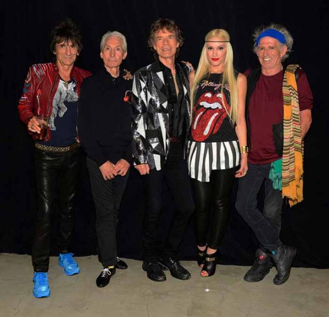 gwen stefani with stones
