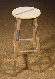 Mended Stool