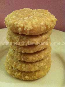 sesame cookie