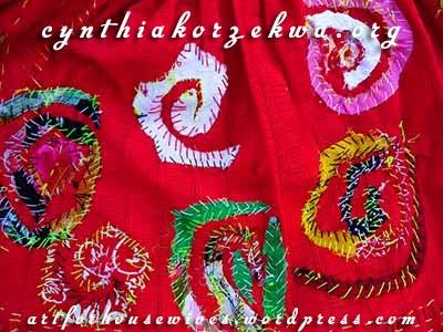 Muy Marcottage Rouge spirals by Cynthia Korzekwa