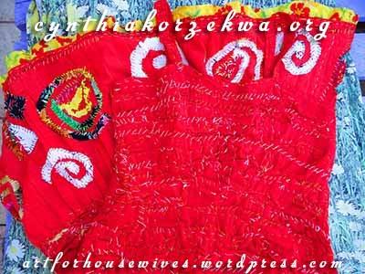 Muy Marcottage stitching spirals by Cynthia Korzekwa