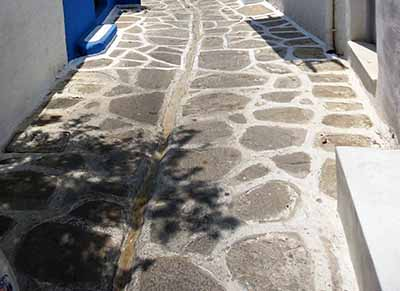 The Streets of Paros