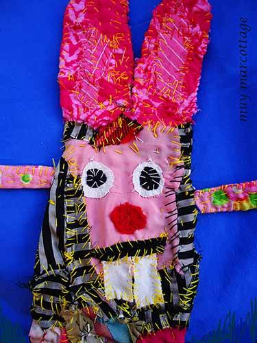 bunny neck purse