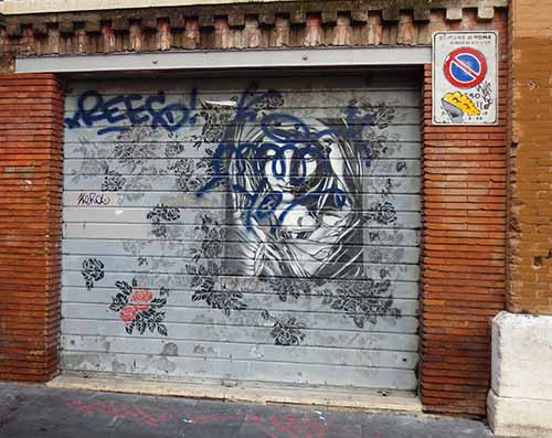 san lorenzo graffetti
