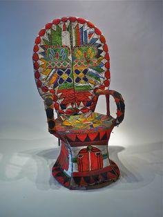 tribal chair
