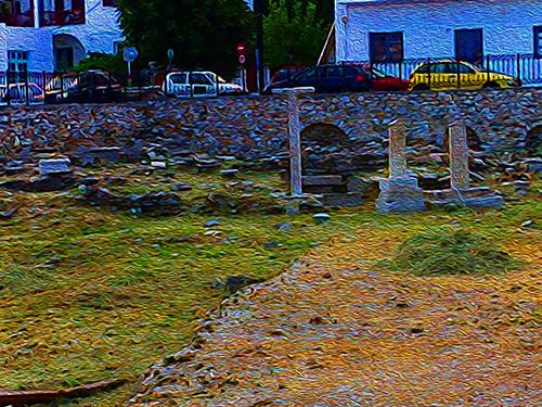 Ancient Cemetary, Paros