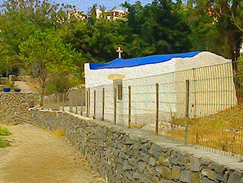 Chapel by The Sea, Paros