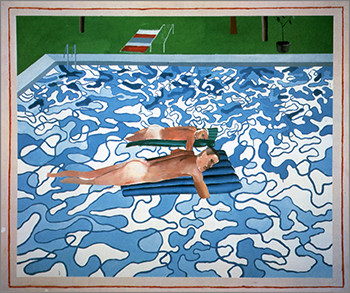 Grounding at the water s edge the photogenic lifestyle - David hockney swimming pool paintings ...