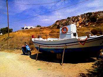 boat at Krios
