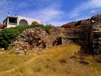 archeology on Paros