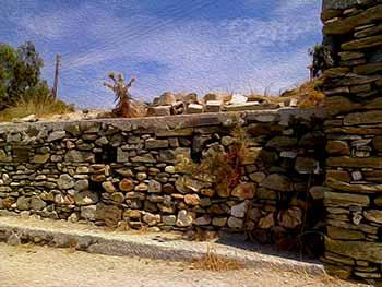 wall near Krios