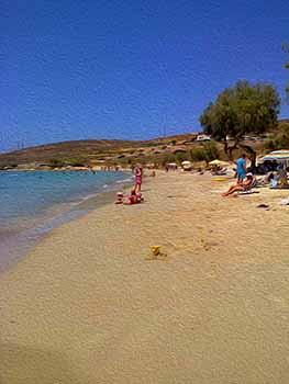 Paros, Krios beach