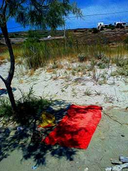 The Red Towel, Paros