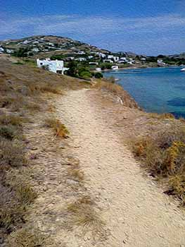 A Path on Paros