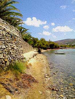 Towards Livadia, Paros