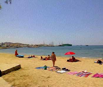 Krios beach, Paros