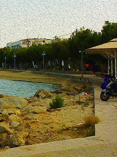 Livadia Beach Walk