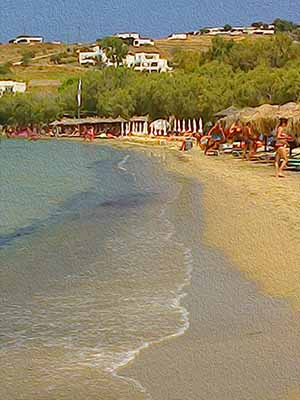 Livadia Beach, Paros