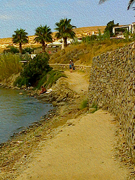 near Parian Village, Paros