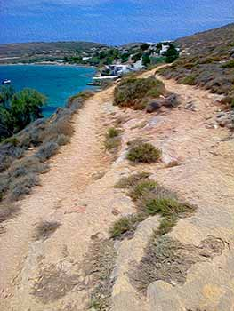 On The Trail, Paros