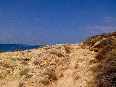 Promontory Path, Paros