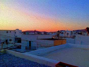 roof top, Paros