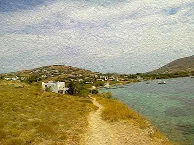 when I turn around, Path to Promontory, Paros