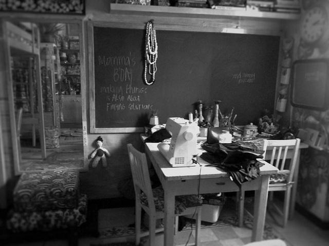 LOS OJOS blackboard