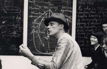 Joseph Beuys' blackboard