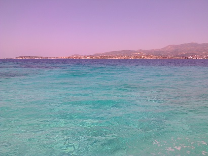 sea sky Paros