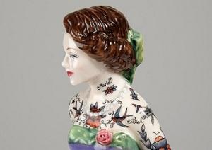 tattoo doll by Jessica Harrison