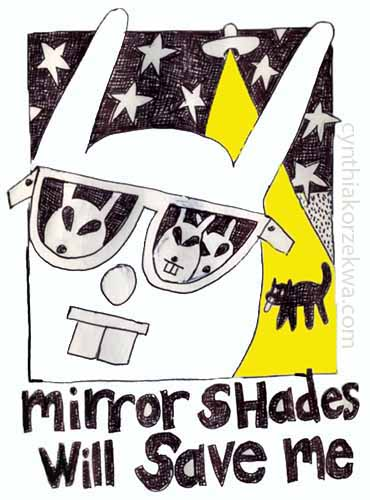 mirrorshades will save me