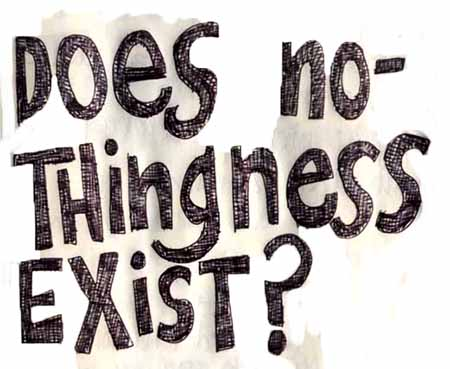 does nothingness exist?