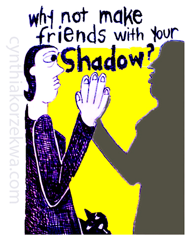 why not make friends with your shadow