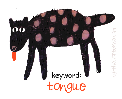 Keyword: Tongue