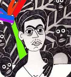 Frida And Her Monkeys
