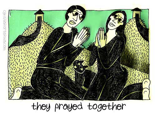 They Prayed Together
