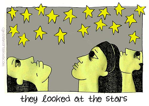 They Looked at The Stars