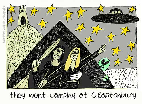 Mick, Marianne and the UFO