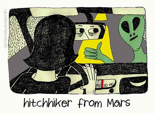 Hitchhiker From Mars