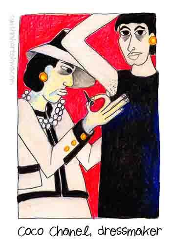 Coco Chanel, Dressmaker