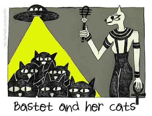 Bastet and Her Cats