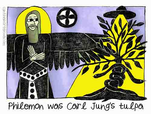 Philemon, Jung's Tulpa