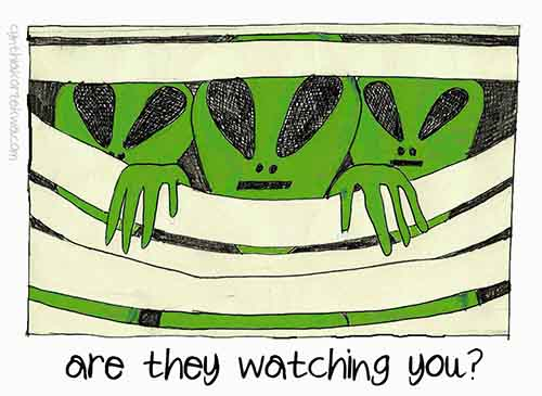 Are You Being Watched?